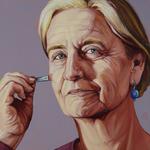 Patricia Olson, self-portrait